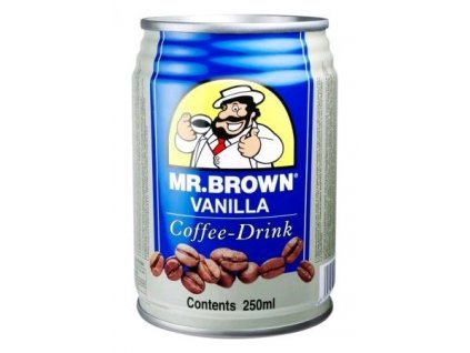 Mr.Brown Vanilka 240ml