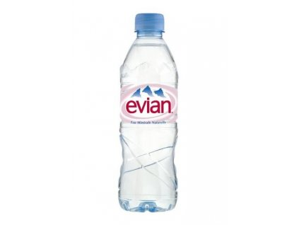 Evian 500ml pet