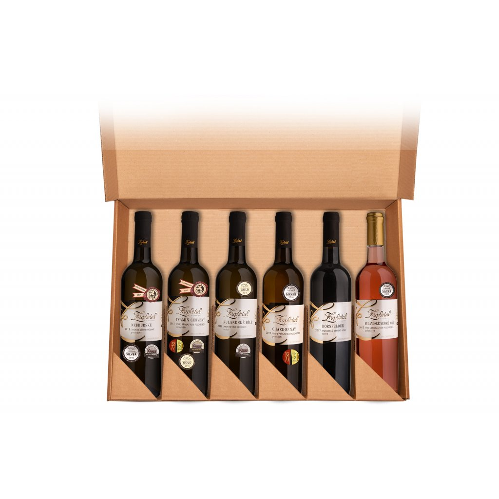 Dárkové balení vín | dárková vína | Vinařství Zapletal