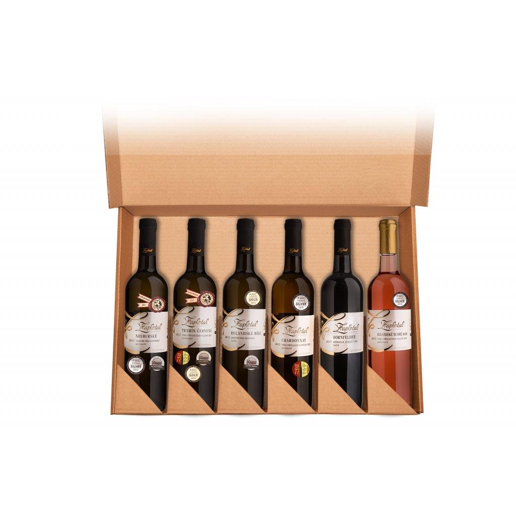 Dárkový kartón (pro 6 lahví)