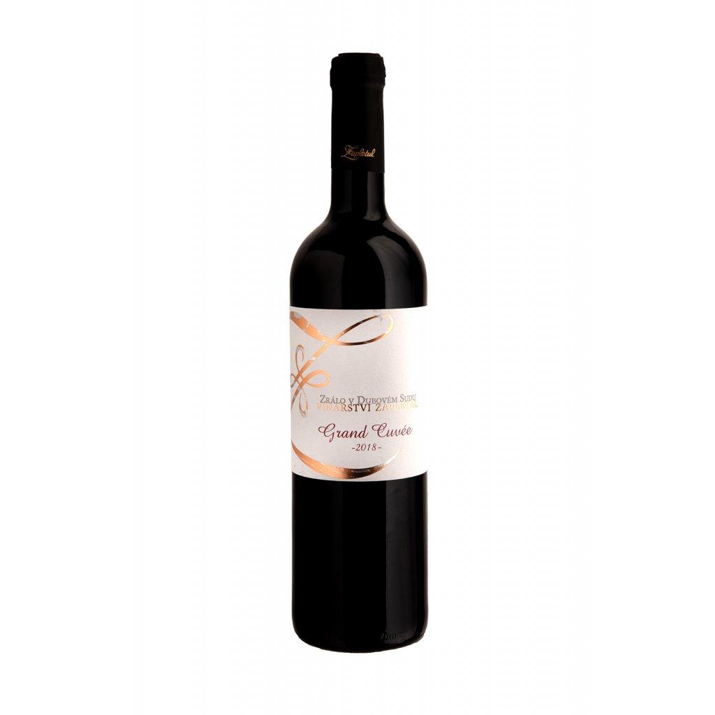 Vinařství Zapletal   Grand Cuvée   červené víno   suché   zemské  2018   0,75 l