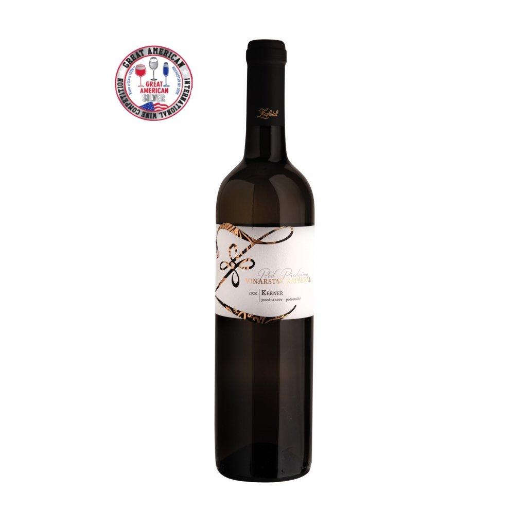 Kerner | bílé víno | polosuché | pozdní sběr |2020 | 0,75 | Vinařství Zapletal