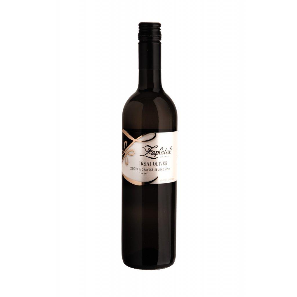 Irsai Oliver | bílé víno | suché | jakostní | 2020 | 0,75 l Vinařství Zapletal
