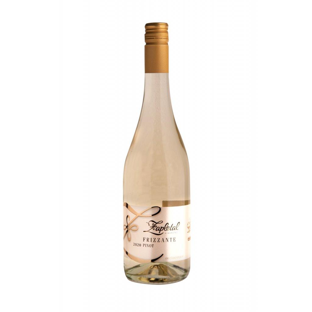 Frizzante Pinot | polosuché | bílé víno | zemské | 2020 | 0,75 l Vinařství Zapletal