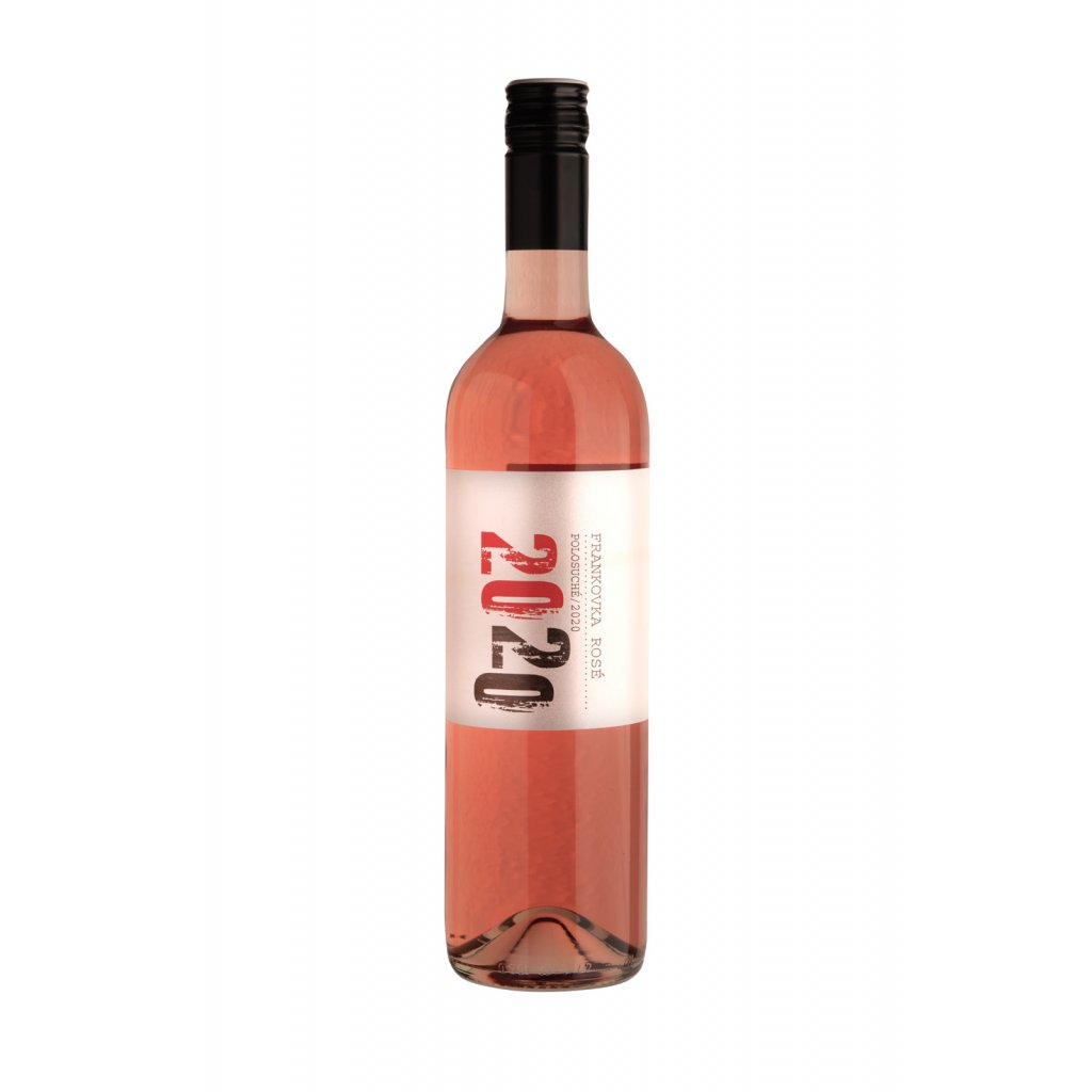 Vinařství Zapletal | Frankovka rosé | polosuché | zemské | 2020 | 0,75 l