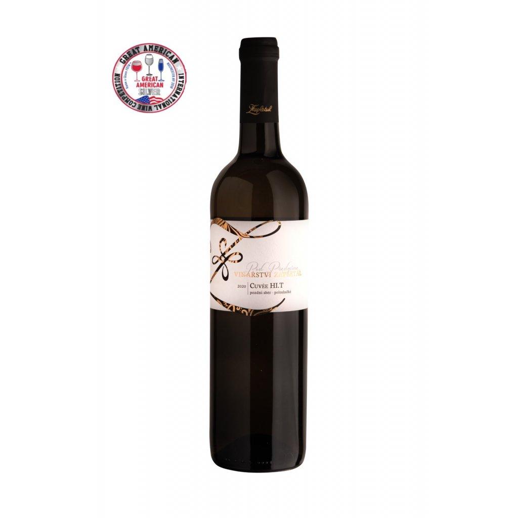 Cuvée HI.T   polosladké   pozdní sběr   2020   0,75 l Vinařství Zapletal