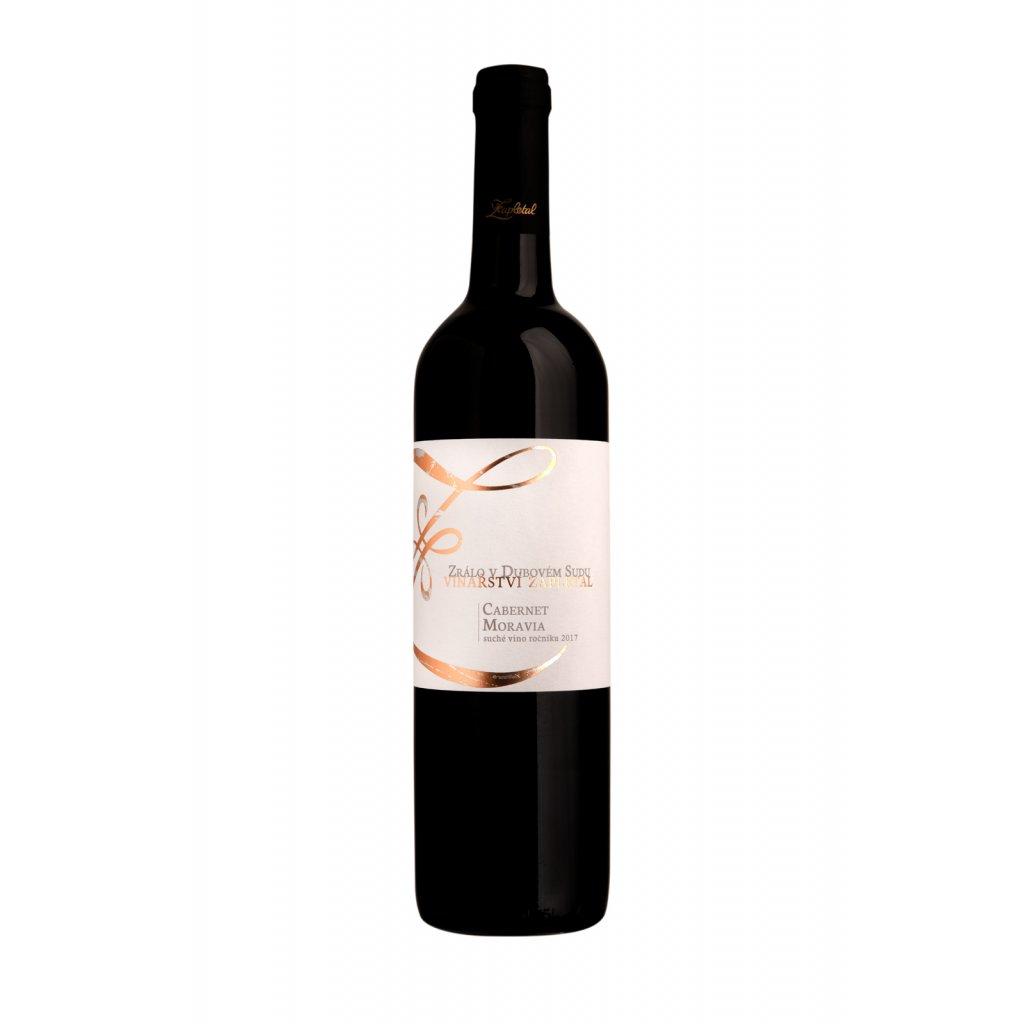 Cabernet Moravia | červené víno | suché | zemské |2017 | 0,75 | Vinařství Zapletal