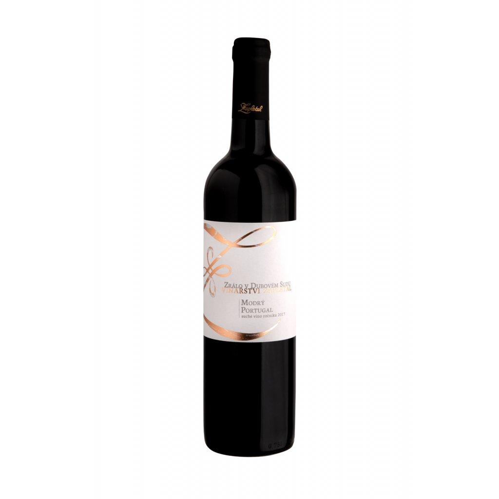 Modrý Portugal | červené víno | suché | zemské |2017 | 0,75 l Vinařství Zapletal