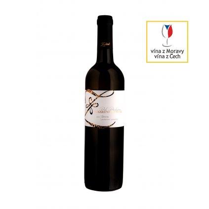 Děvín | bílé víno | polosladké | pozdní sběr | 2019 | 0,75 Vinařství Zapletal
