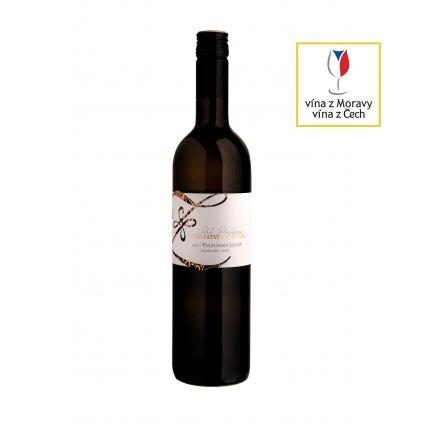 Vinařství Zapletal | Veltlínské zelené | bílé víno | suché | pozdní sběr | 2019 | 0,75 l