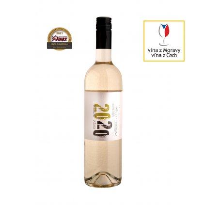 Vinařství Zapletal | Muller Thurgau | bílé víno | suché | zemské | 2020 | 0,75 l