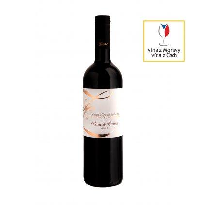 Grand Cuvée | červené víno | suché | zemské |2018 | 0,75 l Vinařství Zapletal