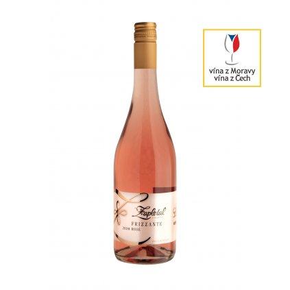 Frizzante Rosé | polosuché | zemské | 2020 | 0,75 l Vinařství Zapletal