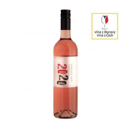 Frankovka rosé | polosuché | zemské | 2020 | 0,75 l Vinařství Zapletal