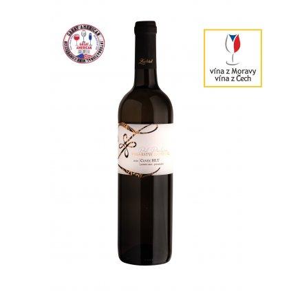 Cuvée HI.T | polosladké | pozdní sběr | 2020 | 0,75 l Vinařství Zapletal