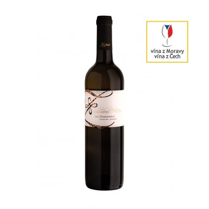 Chardonnay | bílé víno | polosuché | pozdní sběr | 2020 | 0,75 l Vinařství Zapletal