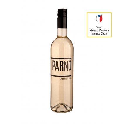 Parno   bílé víno   suché   zemské   2019   0,75 l Vinařství Zapletal