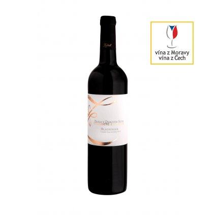 Vinařství Zapletal | Blauburger | suché | červené víno | zemské | 2017 | 0,75 l