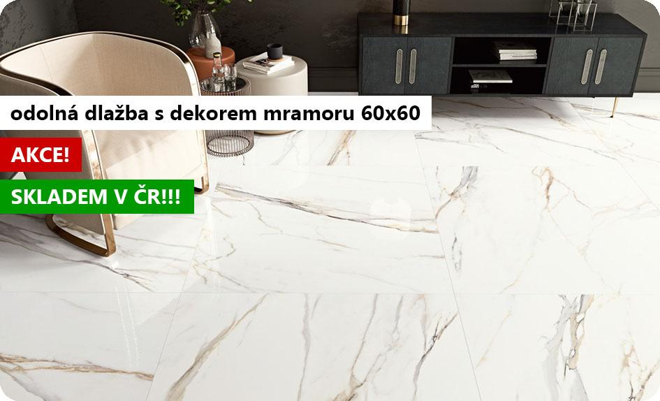 cerdomus calacatta dlažba s dekorem kamene mramoru velkoformátová 60x60
