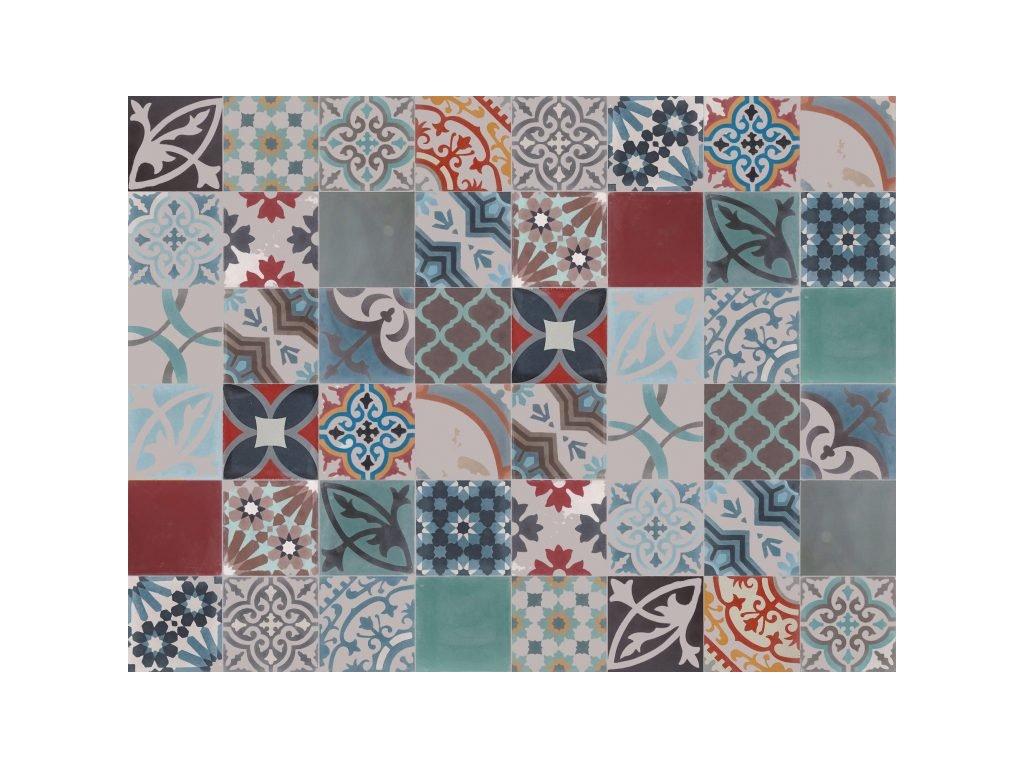 patchwork 102 cementova orientalni dlazba 20x20