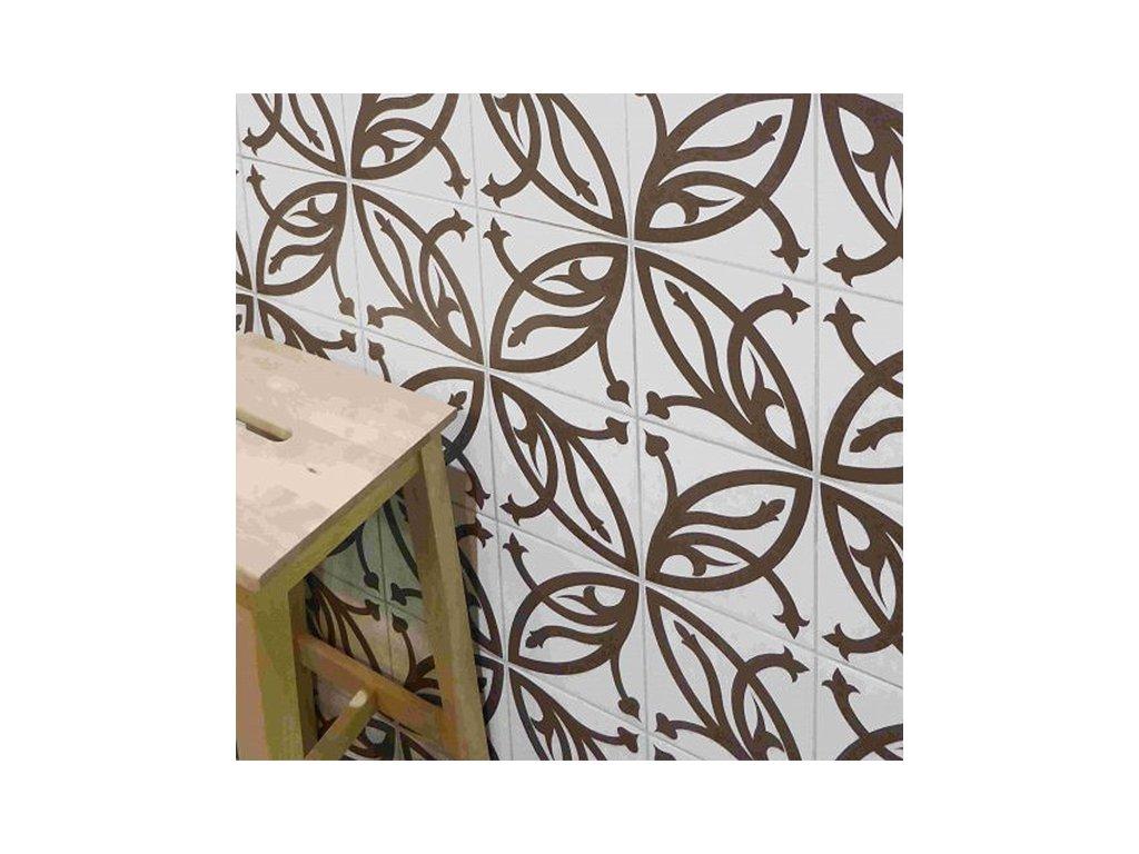 neocim classic dlazba odolna 20x20 dekor retro 05