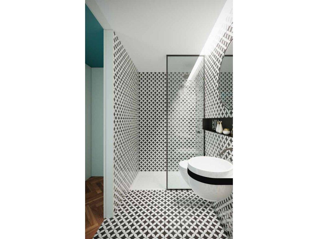decor fleur noir n 1