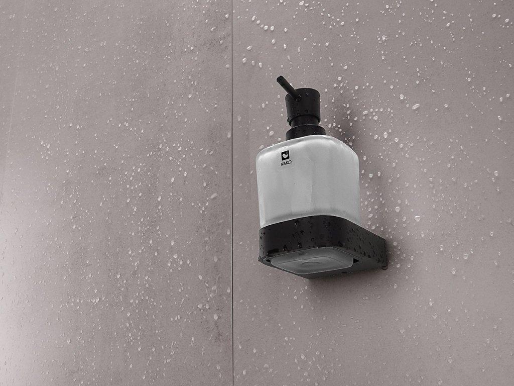 kibo cerne davkovac mydlo skleneny