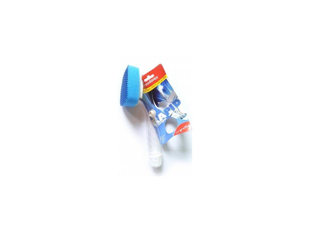 Eudorex houbička s rukojetí RAPID na nádobí Eudorex produkty pro kvalitní a jednoduchý úklid 1