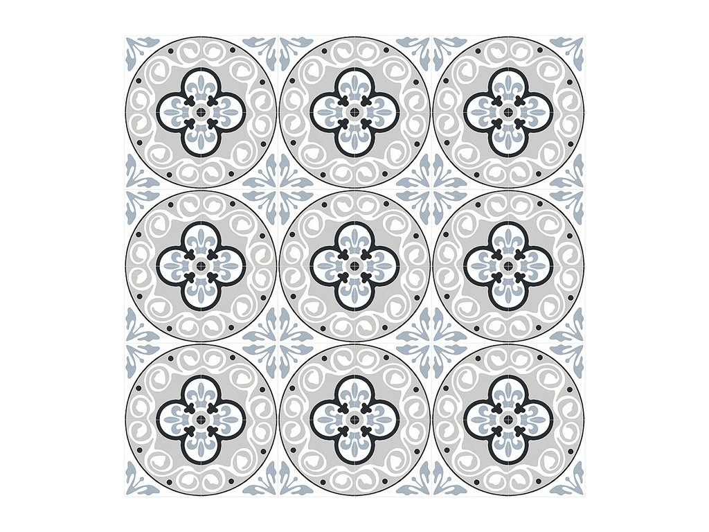 xclusive element baroque dlazba obklady retro cernobile