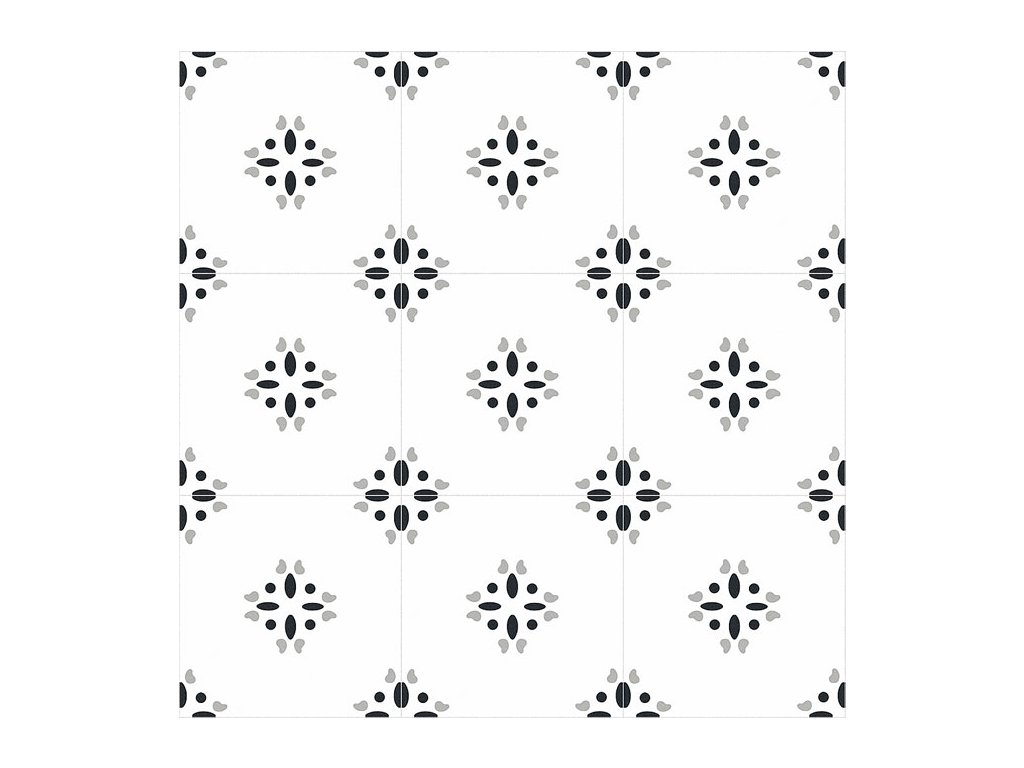 xclusive element flower dlazba obklady retro cernobile