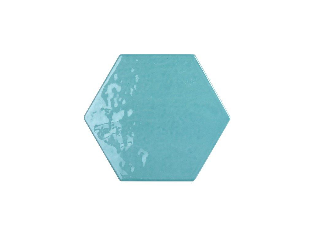 tonalite exabright acquamarina obklad hexagonalni modry