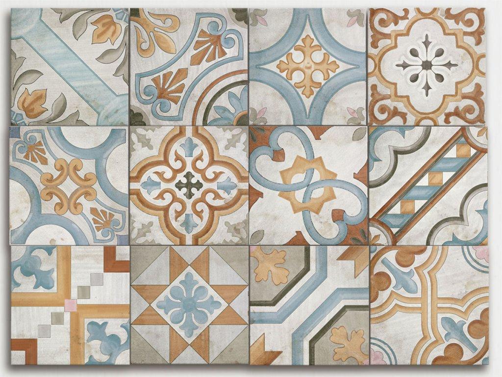 avenue dlazba dekory patchwork decor hydraulic