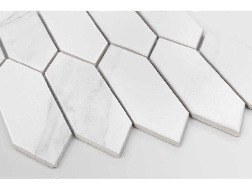 mramorova mozaika sit hexagon dlouhy hexalong 02