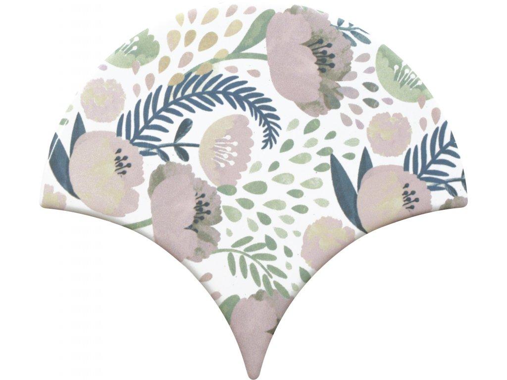 cevica jazz obklady lesk rybi supina dekory vzory jednobarevne dekor 1