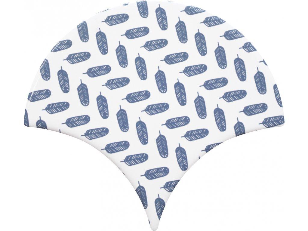 cevica jazz obklady lesk rybi supina dekory vzory jednobarevne dekor 5
