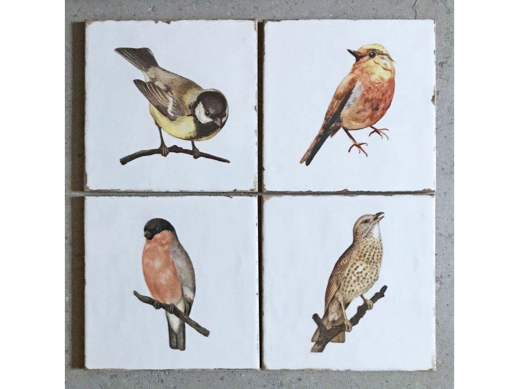 fabresa forli obklady dekory patchwork retro do kuchyne koupelny ptacci 01