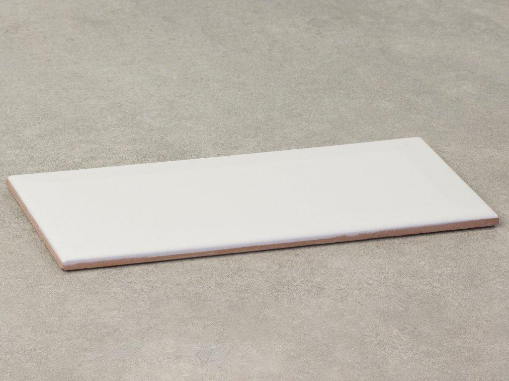 mate branco obklady bile obdelnik 10x20