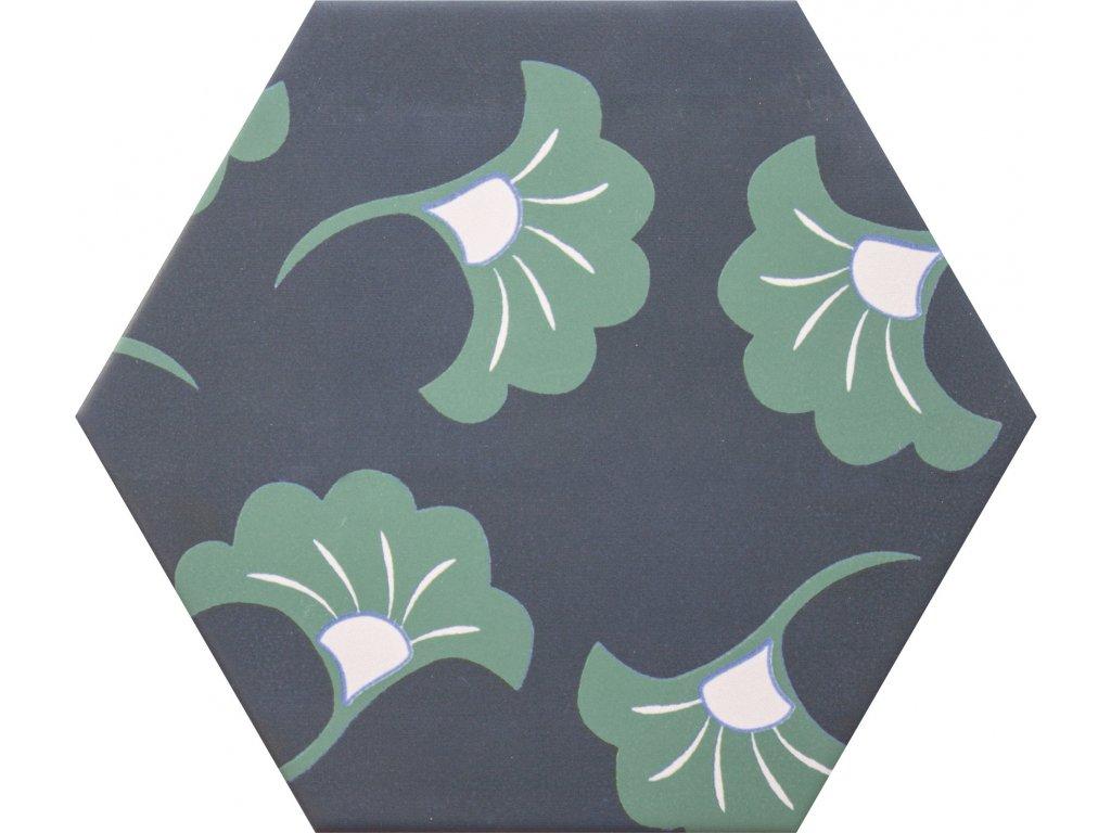 goog vibes hexagonalni dlazba obklady dekory jednobarevne 14