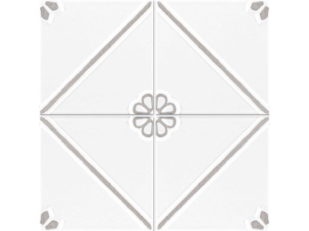 formelle obklady bile reliefni vintage kvetinove sedy 02