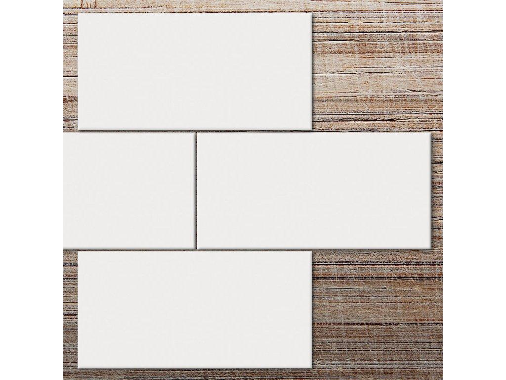 cesi i colori 10x20 bianco matt obklad bily matny obdelnik