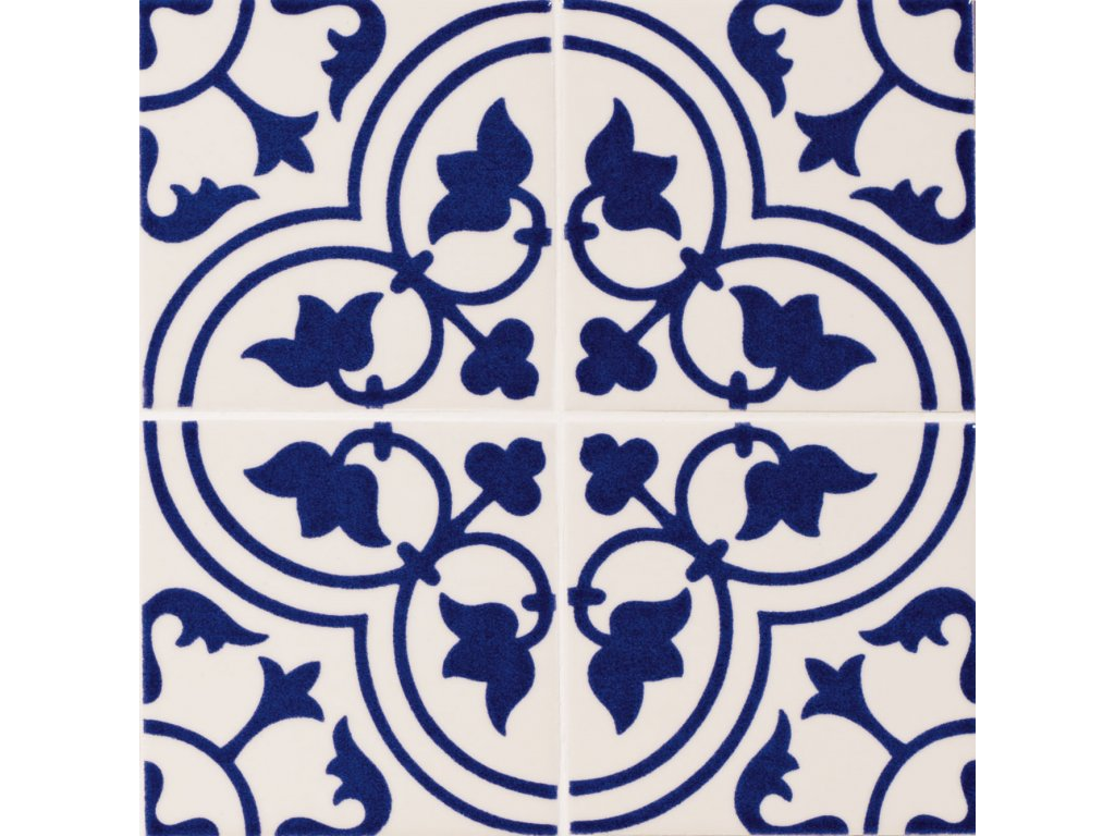 maiolica obklady modrobile 10x10 retro majolika adagio