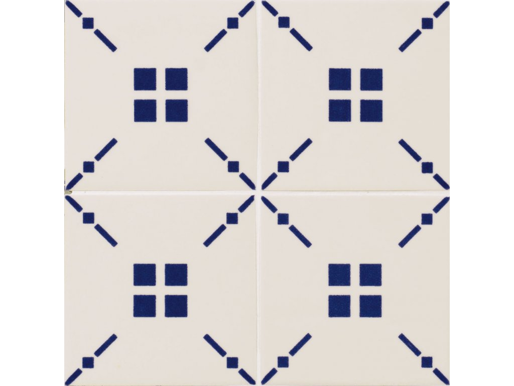 maiolica obklady modrobile 10x10 retro majolika Tratti