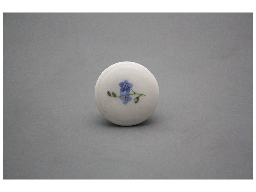 Porcelánová úchytka pomněnky 35 mm