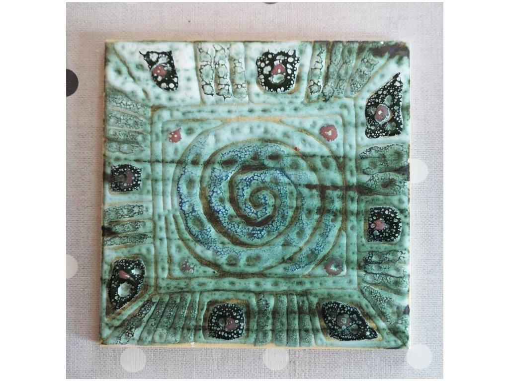 obklady keramicke rucne vyrobene zelena 01