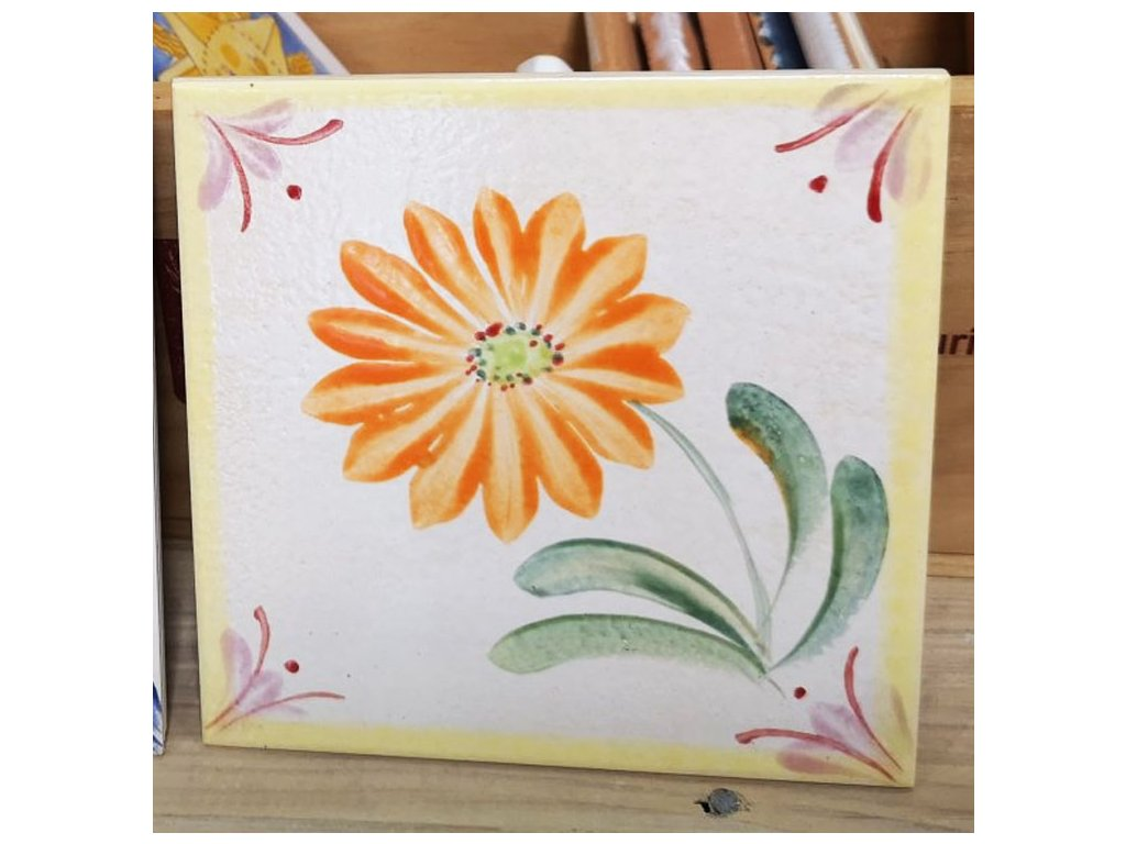 rucne malovane obklady selske kvetina