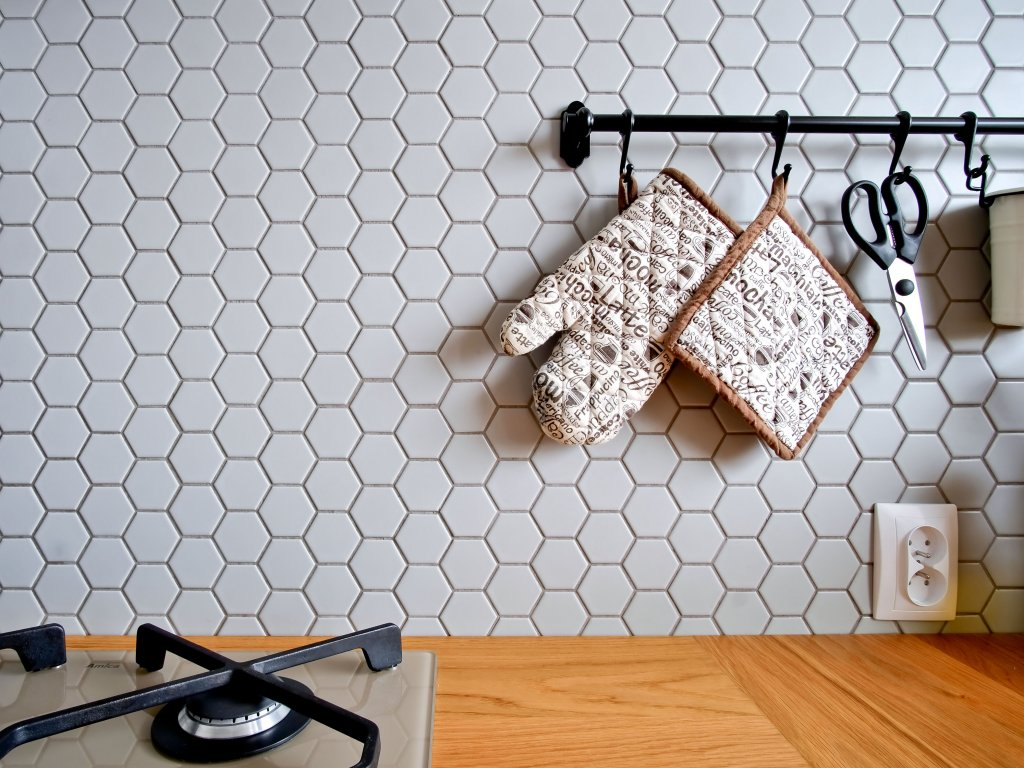 mozaika hexagon velky svetle seda mat podlaha 19