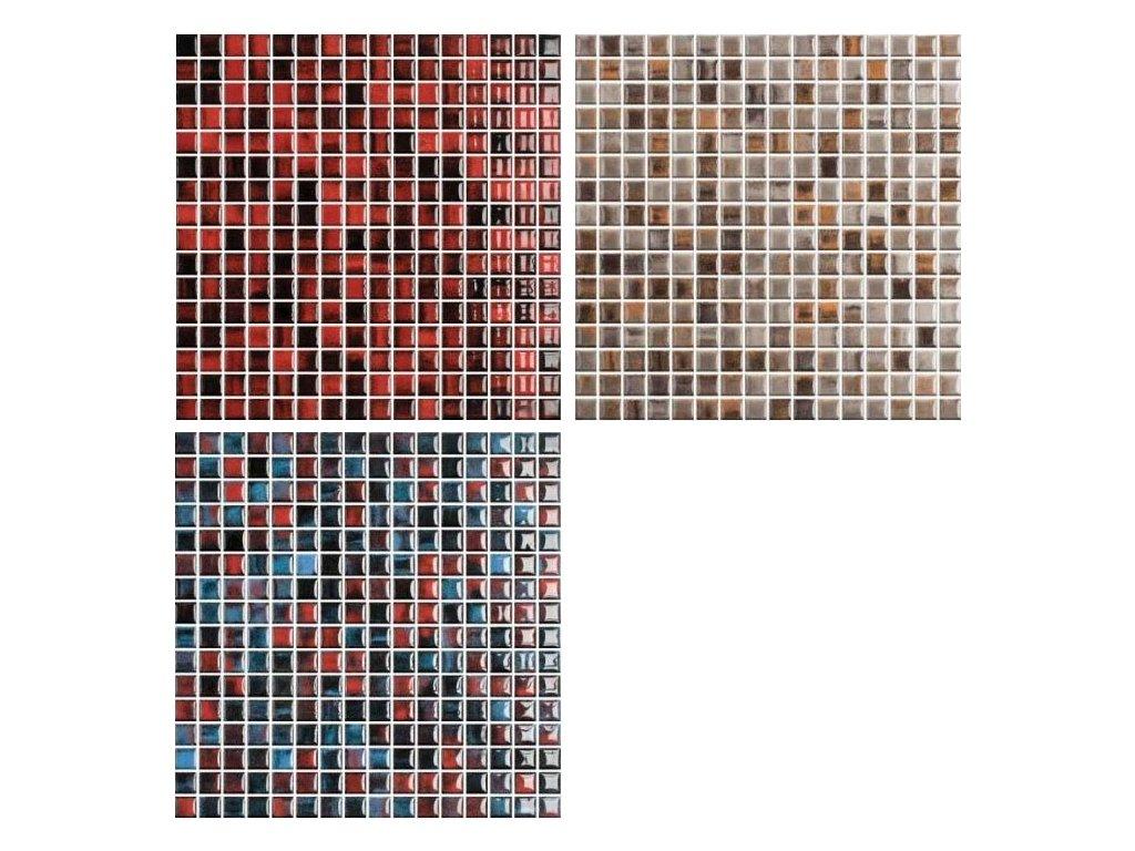 Fantasy mozaika keramická lesklá 31,6x31,6 - 3 barvy
