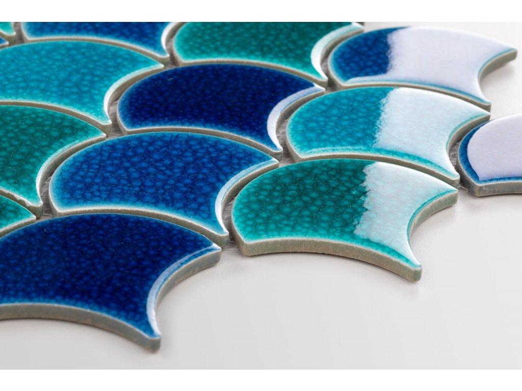 mozaika šupina flabellum sea mix lesk 84x90