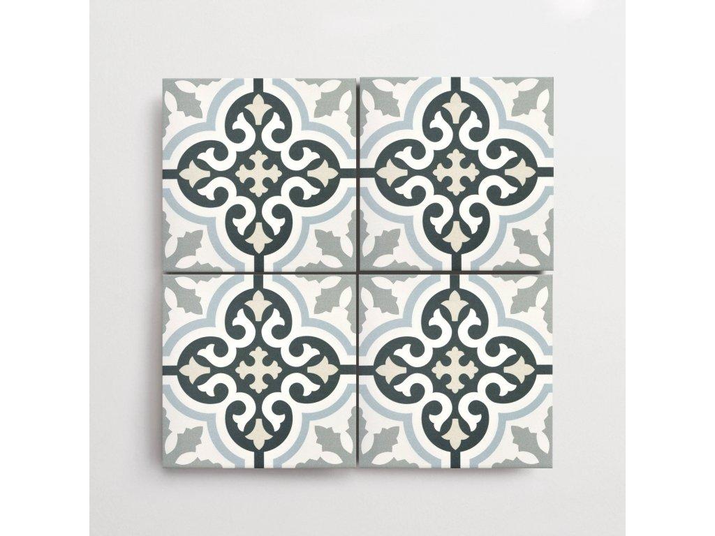 urban calipso dekory dlazba matna jednobarevna 20x20 02