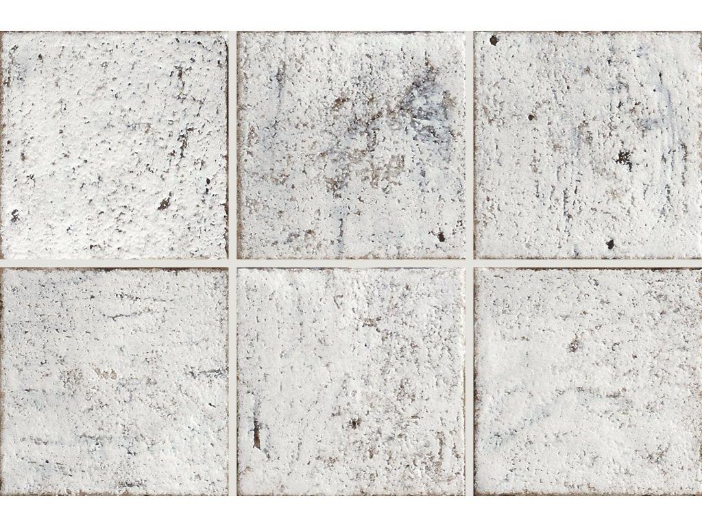 mistral bianco anticato dlazba obklady 15x15 rustikalni bile 07